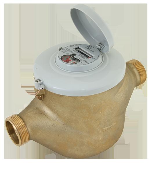 Contador de água volumétrico