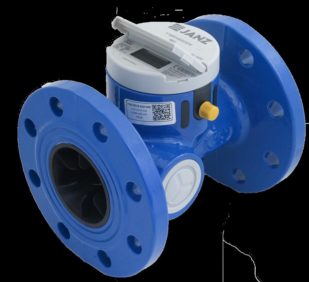 JU500: Contador de água industrial ultrassónico